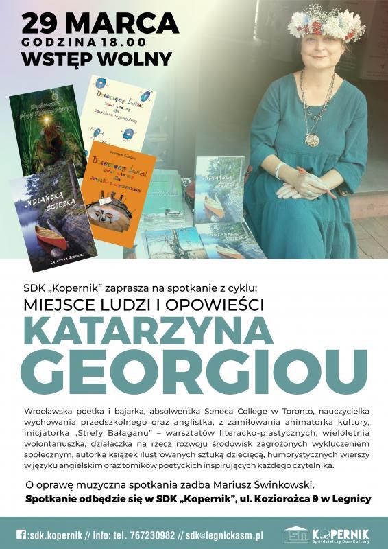 Miejsce ludzi iopowieści – Katarzyna Georgiou