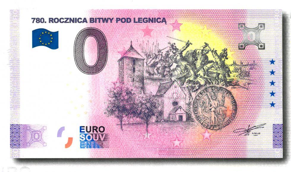 Legnicka Bitwa 1241 roku na nowym pamiątkowym EURO