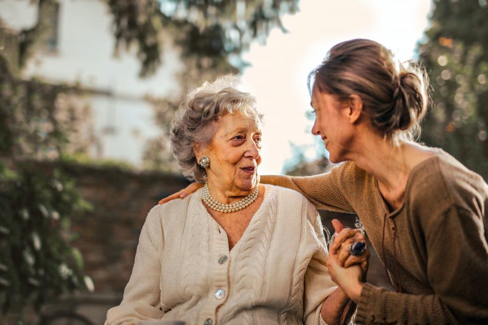 Pomóż seniorowi wcodziennych czynnościach